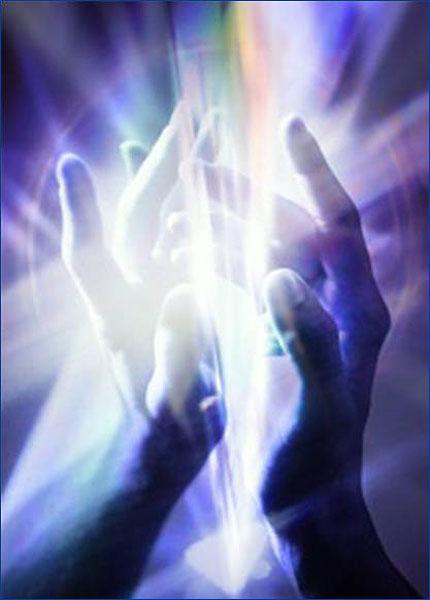 Magnétisme transmit par les mains